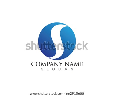 S Water Logo Symbols Nature Stock Vector 662910655 Shutterstock