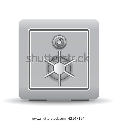 Safe - stock vector