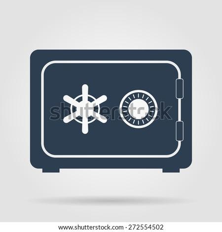 Safe vector icon, vector eps 10 illustration - stock vector