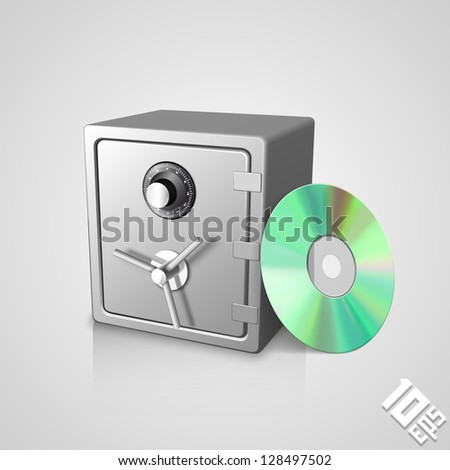 safe with dick - stock vector