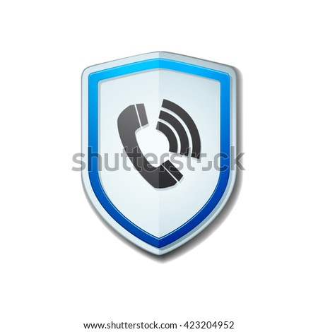 Safety Calls shield sign