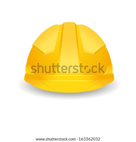 safety hat - stock vector