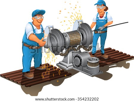 Grinding Metal Stock Photos Images Amp Pictures Shutterstock