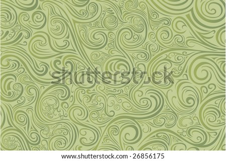 Sage scrollwork -- check out my other vectors