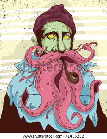 Sailor Mutant - stock vector