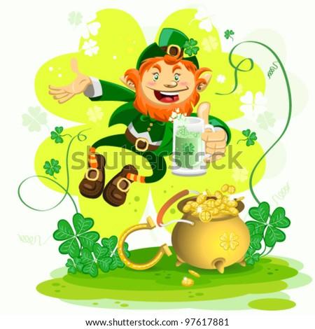 Saint Patrickâ??s Day - stock vector