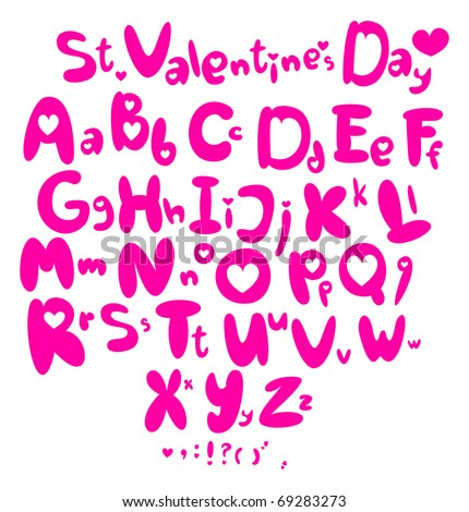 Saint Valentine's Day - stock vector