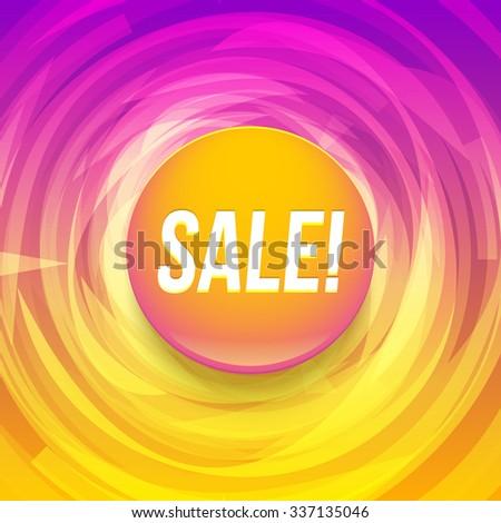Sale background - stock vector