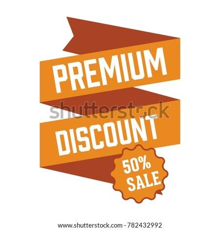 sale banner vector illustration discon
