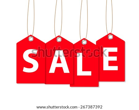 Sale Banner. Vector Illustration EPS10 - stock vector