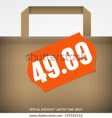Sale Design - stock vector