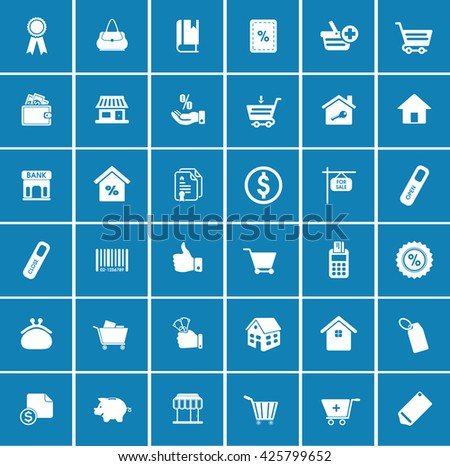 Sale icons - stock vector