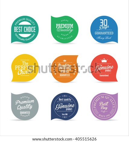 Sale price tag modern design collection - stock vector