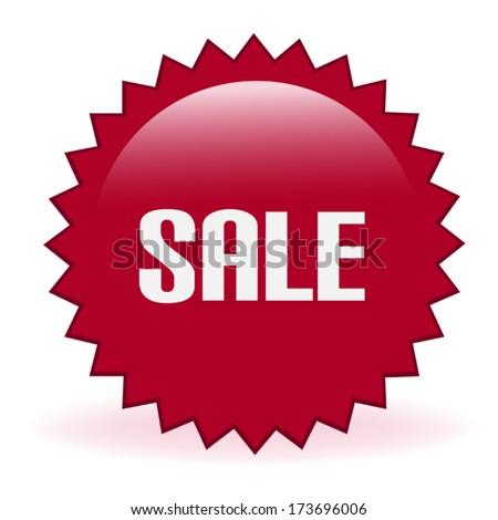 Sale Promotional Sticker - stock vector