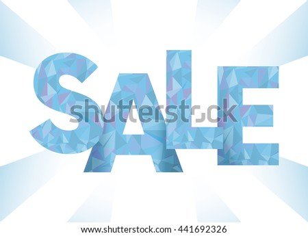 Sale, special offer web banner and poster, background. Vector illustration.