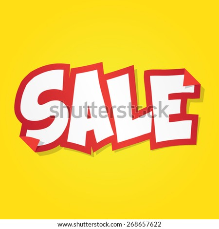 Sale Sticker - stock vector