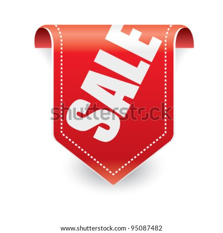 Sale tag vector - stock vector
