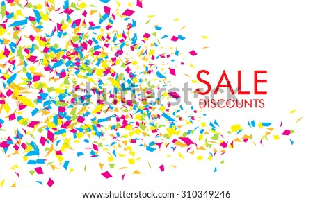 Sale. Vector banner design