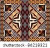 Samoan Siapo Pattern / Quilt - stock photo