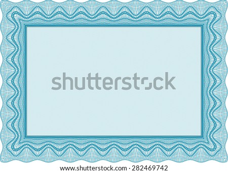 Sample Certificate Frame Certificate Template Vector With Stock