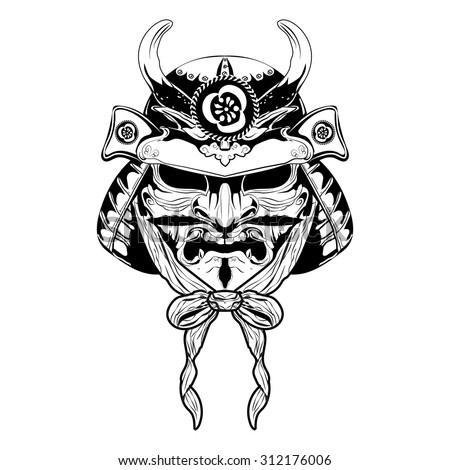 samurai tattoo stock images royalty free images vectors shutterstock. Black Bedroom Furniture Sets. Home Design Ideas