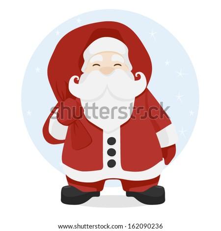 Santa - stock vector