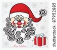 Santa Claus. - stock vector