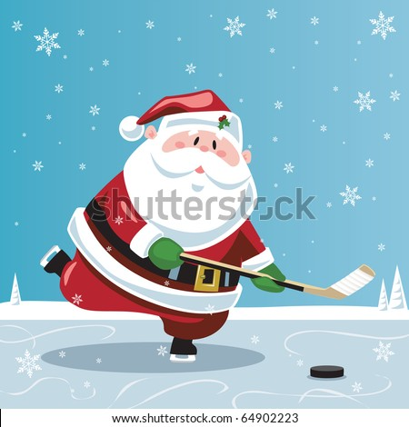 Hockey Christmas Stock Images, Royalty-Free Images & Vectors ...