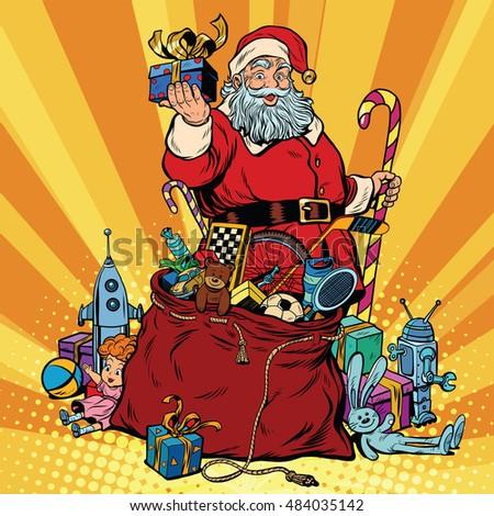 Santa Red Bag Fun Stock Images, Royalty-Free Images & Vectors ...