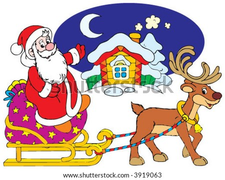Santa Clause - stock vector
