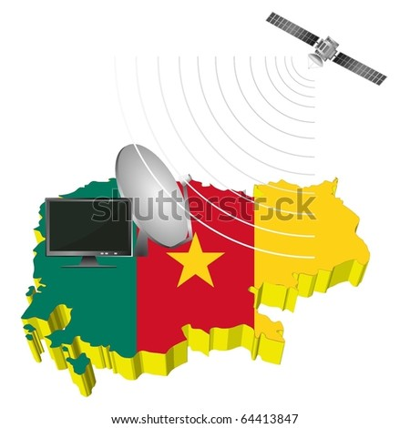 Satellite communications in Cameroon