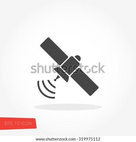 Satellite Icon / Satellite Icon Vector / Satellite Icon Picture / Satellite Icon Graphic / Satellite Icon Art / Satellite Icon JPG / Satellite Icon JPEG / Satellite Icon EPS / Satellite Icon AI - stock vector