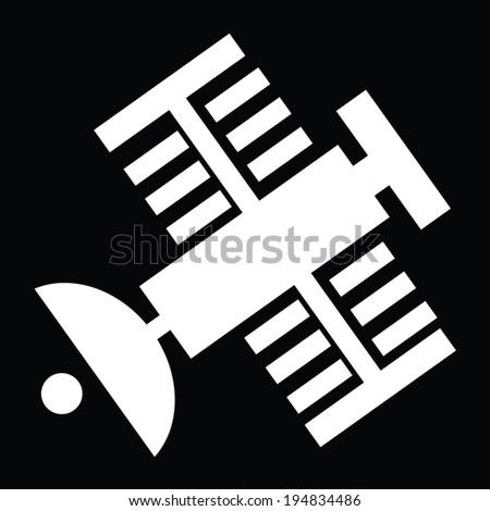 Satellite- Vector - stock vector