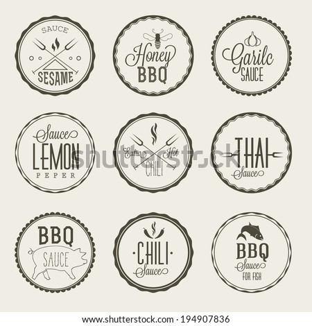 how to make bbq sauce labels