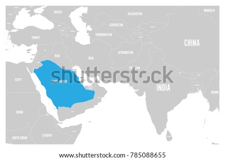 Saudi Arabia Blue Marked Political Map Stock Vector 785088655 ... on map of pretoria south africa, map of mecca and medina, map of cairo egypt, map of tehran iran, map of kabul afghanistan, map of mexico city mexico, map of johannesburg south africa, map of durban south africa, map of phnom penh cambodia, map of santiago chile, map of madrid spain, map of bogota colombia, map of buenos aires argentina, map of quito ecuador, map of perth australia, map of nairobi kenya, map of wellington new zealand, map of shanghai china, map of hanoi vietnam, map of damascus syria,