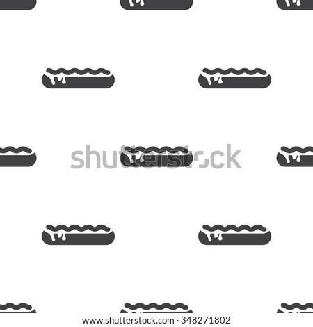 Pictograph Sandwich Hot Dog