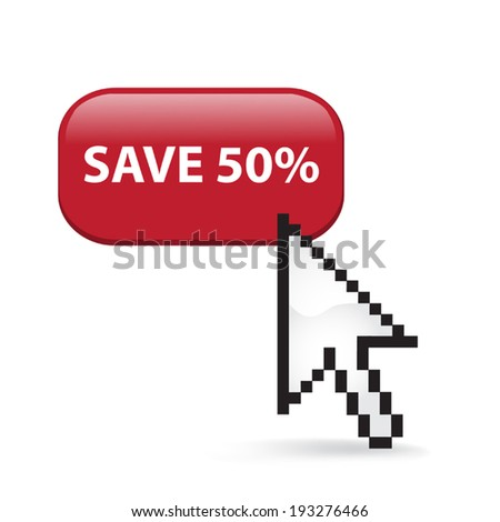 Save Fifty Percent Button Click