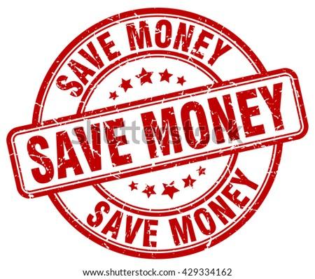 save money red grunge round vintage rubber stamp.save money stamp.save money round stamp.save money grunge stamp.save money.save money vintage stamp. - stock vector