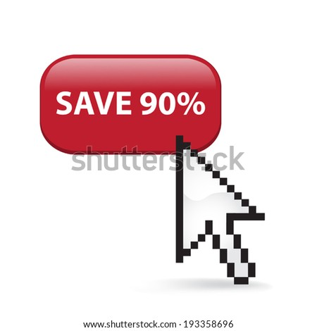 Save Ninety Percent Button Click