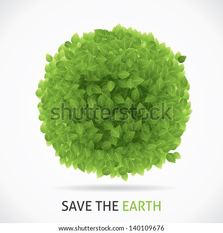 Save Our Earth - stock vector