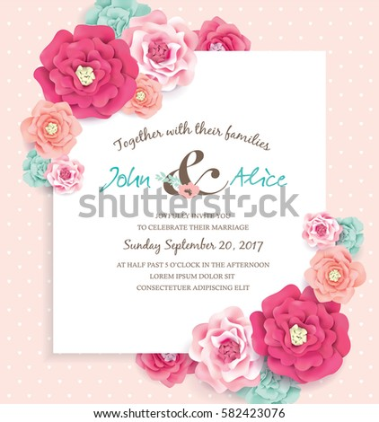 Save The Date Template Stock Images, Royalty-Free Images & Vectors