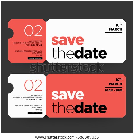 Save date minimalist modern invitation design em vetor stock save date minimalist modern invitation design em vetor stock 586389035 shutterstock stopboris Image collections
