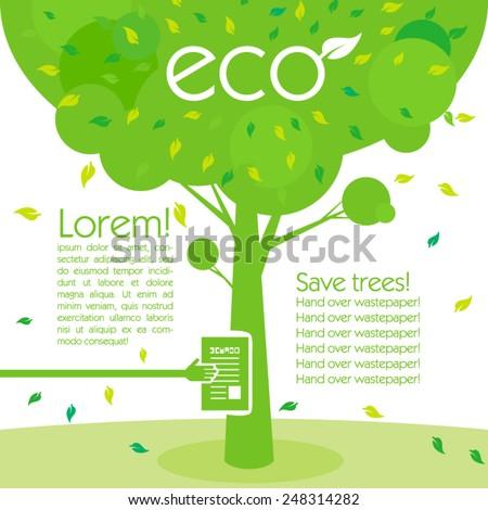 save trees save environment