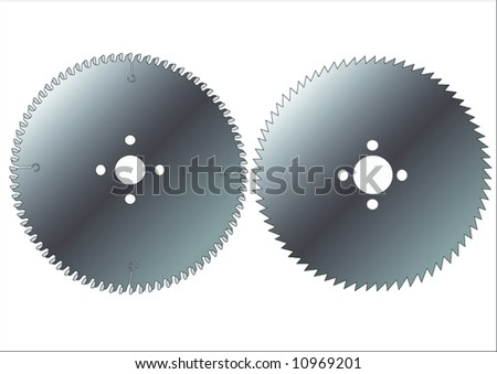 saw - stock vector