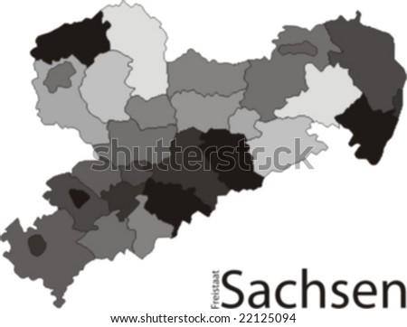 Saxony / Grayscale