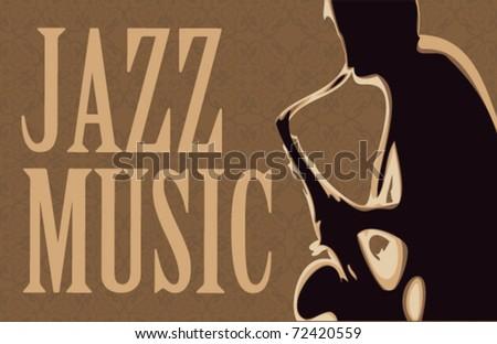 Saxophonist vector illustration 1. - stock vector