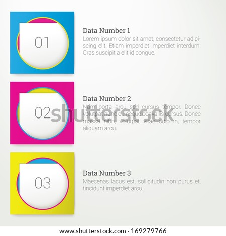 Scalable vector composition of info graphics - stock vector