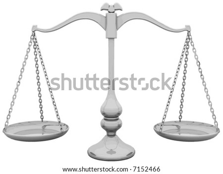 Scale Balance - stock vector