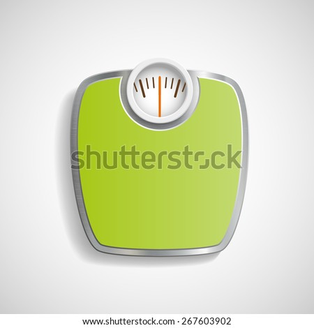 Scales for weighing. Vector image. - stock vector
