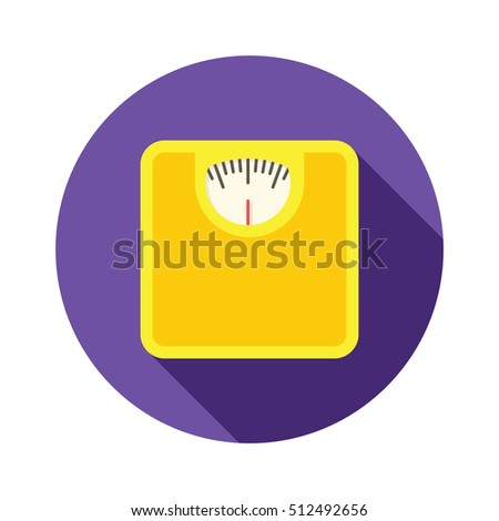 Scales Icon Vector Illustration